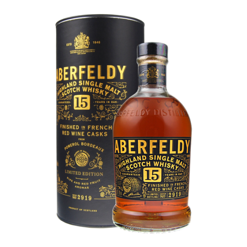 Aberfeldy 15 years French Red Wine Finish