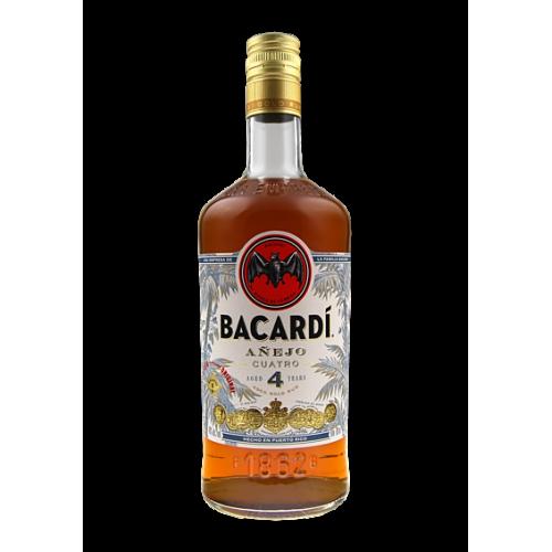 Bacardi Anejo Quatro