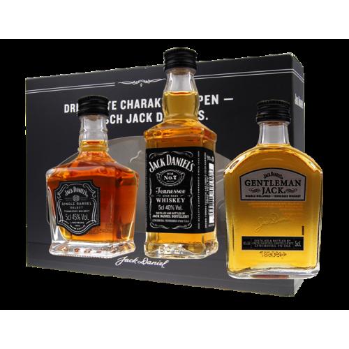Jack Daniels miniset 3 x 5 cl