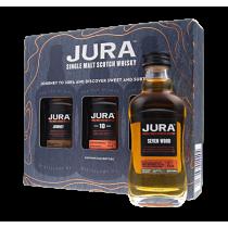 Jura Single Malt Scotch Whisky miniset