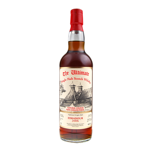 The Ultimate Edradour Cask Strenght 2008 - 9 years